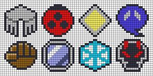 Alpha pattern #35482