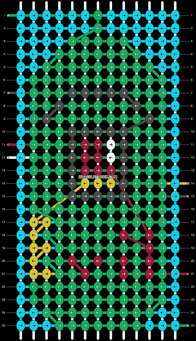 Alpha pattern #35492 pattern