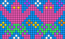 Alpha pattern #35494
