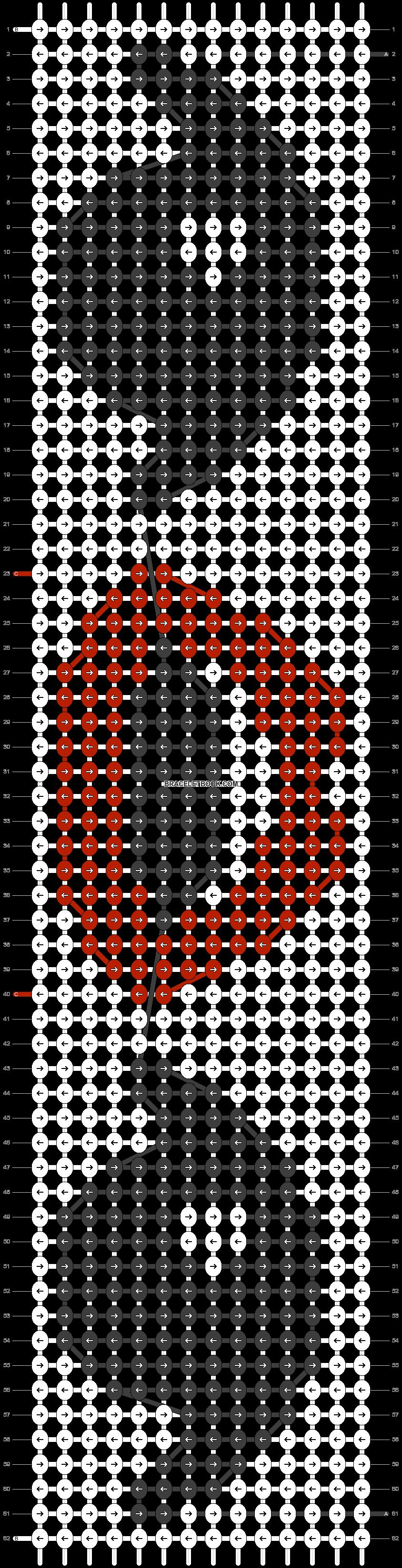 Alpha pattern #35504 pattern