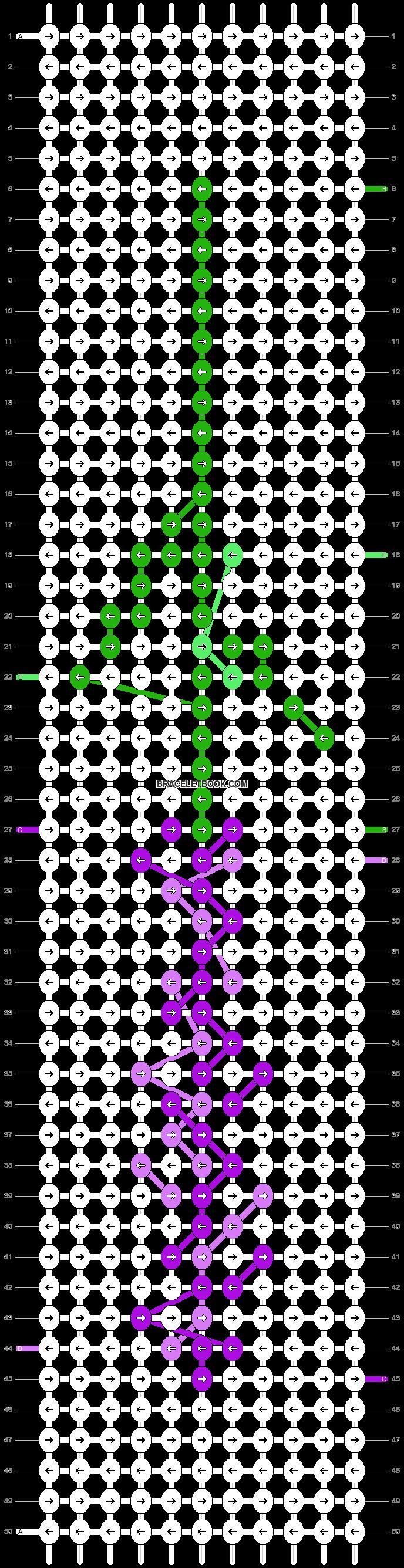 Alpha pattern #35516 pattern