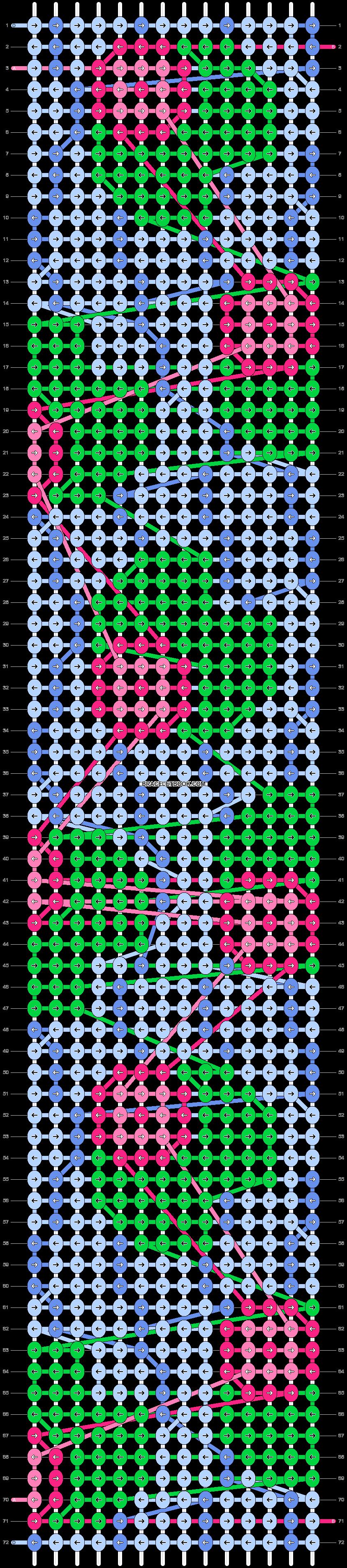 Alpha pattern #35521 pattern