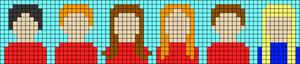 Alpha pattern #35570