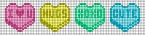 Alpha pattern #35645