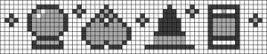 Alpha pattern #35650
