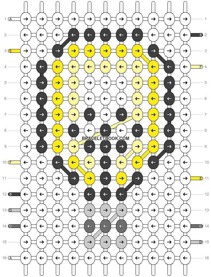 Alpha pattern #35702 pattern