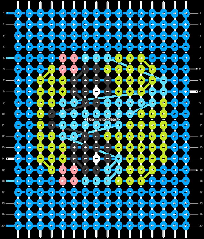 Alpha pattern #35770 pattern