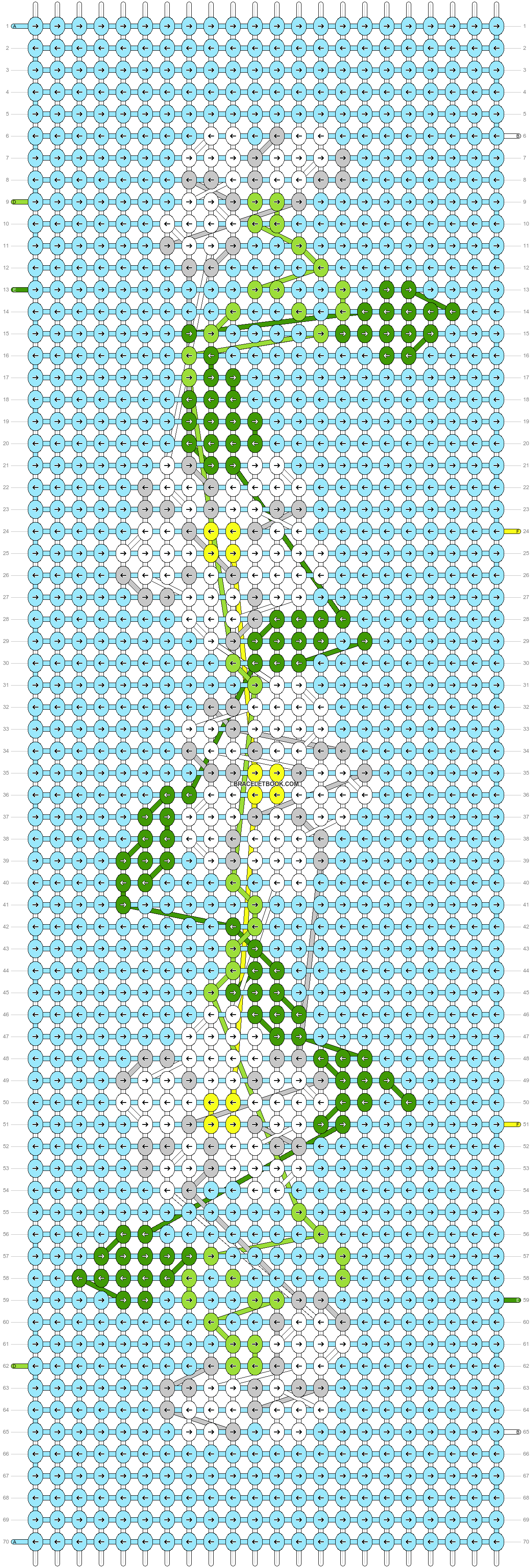 Alpha pattern #35792 pattern