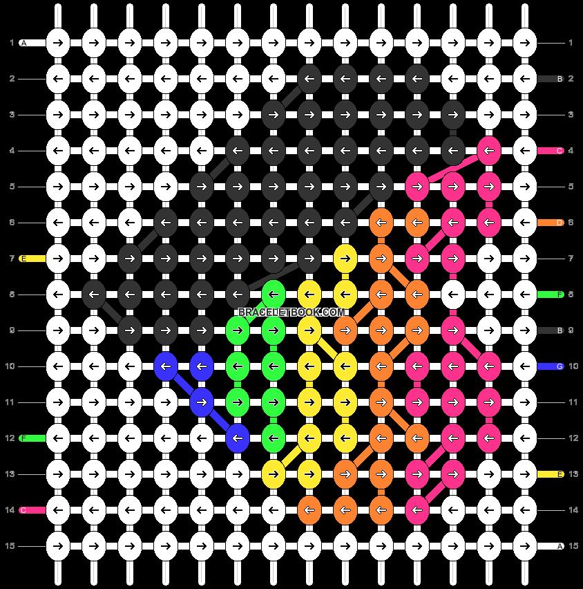Alpha pattern #35795 pattern