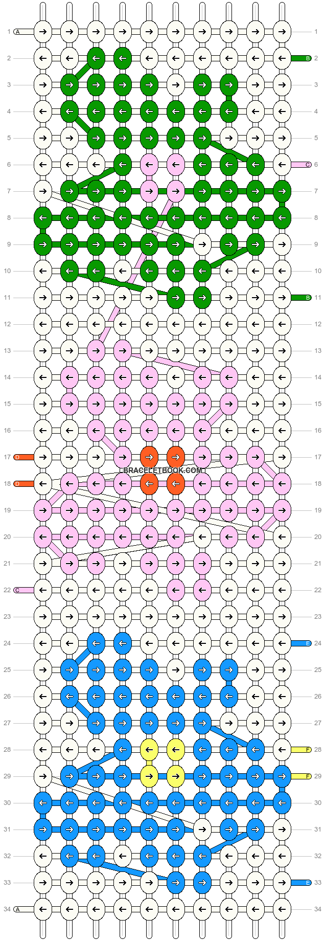 Alpha pattern #35808 pattern