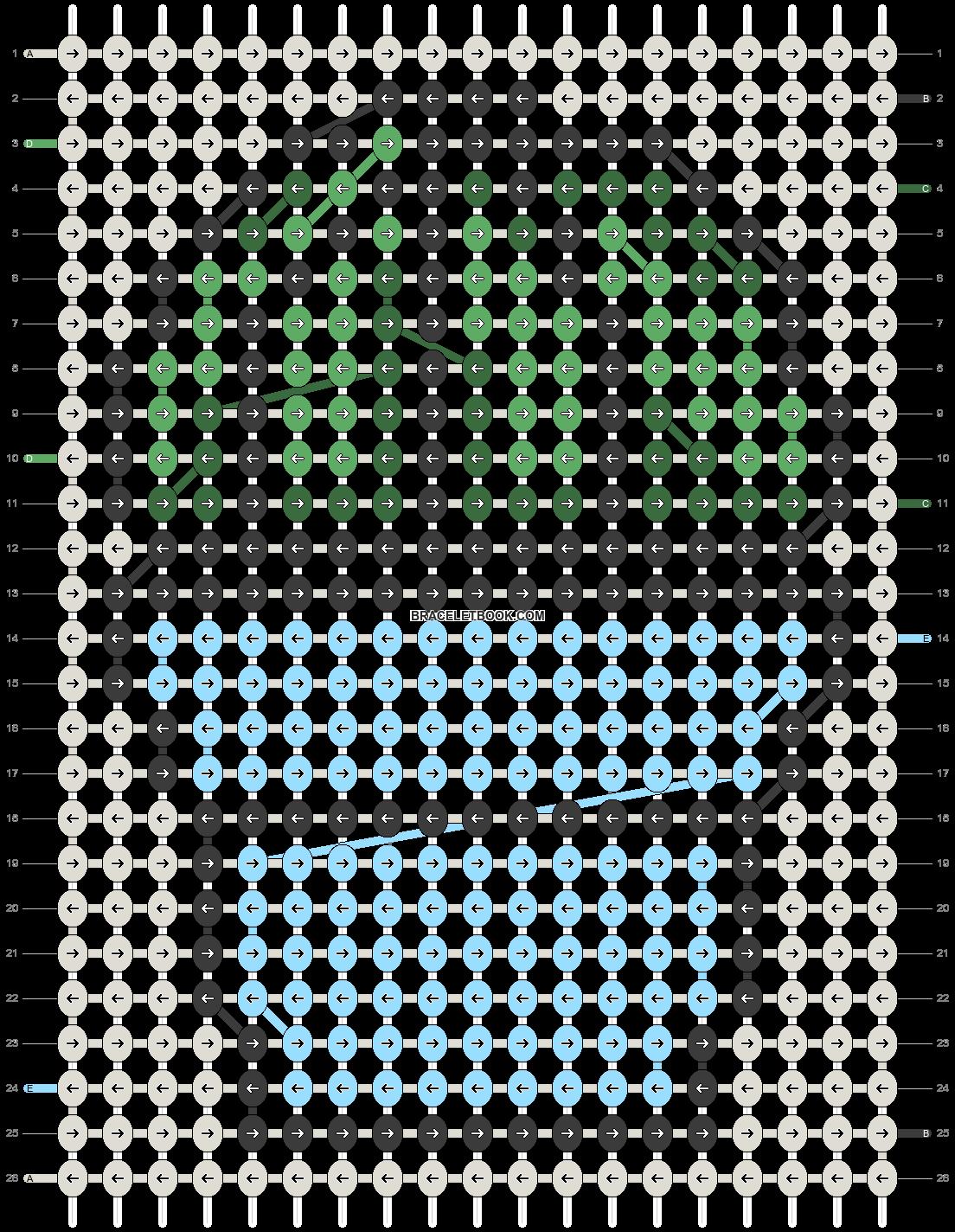 Alpha pattern #35812 pattern
