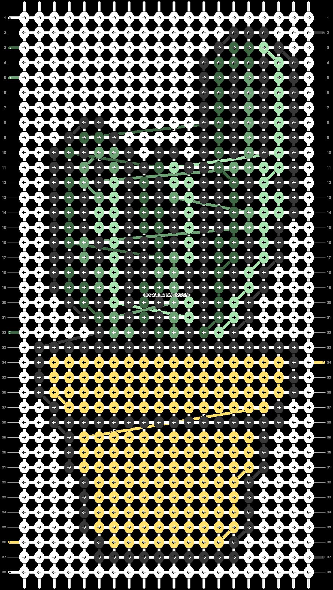 Alpha pattern #35813 pattern