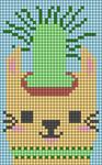 Alpha pattern #35834