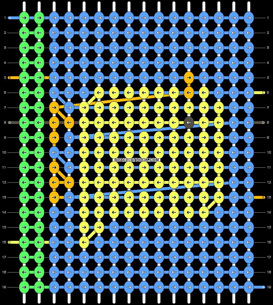 Alpha pattern #35839 pattern