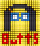 Alpha pattern #35856