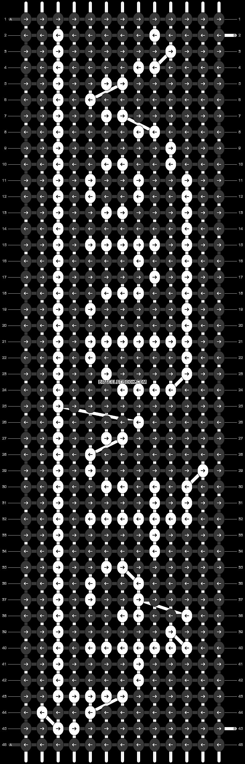 Alpha pattern #35921 pattern