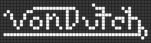 Alpha pattern #35921
