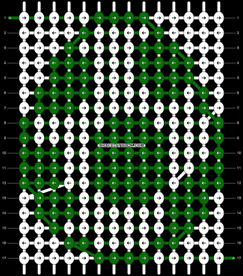 Alpha pattern #35945 pattern