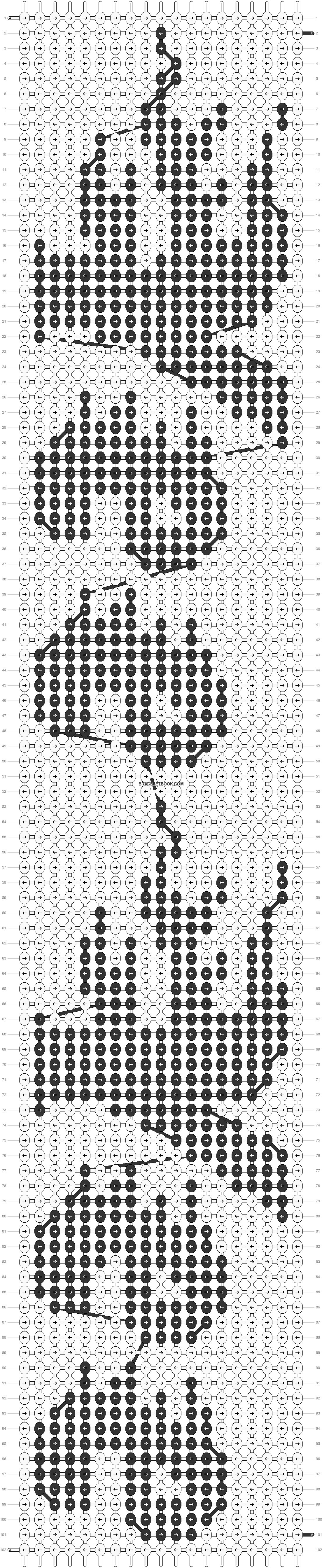 Alpha pattern #35988 pattern