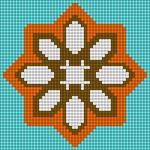 Alpha pattern #36006