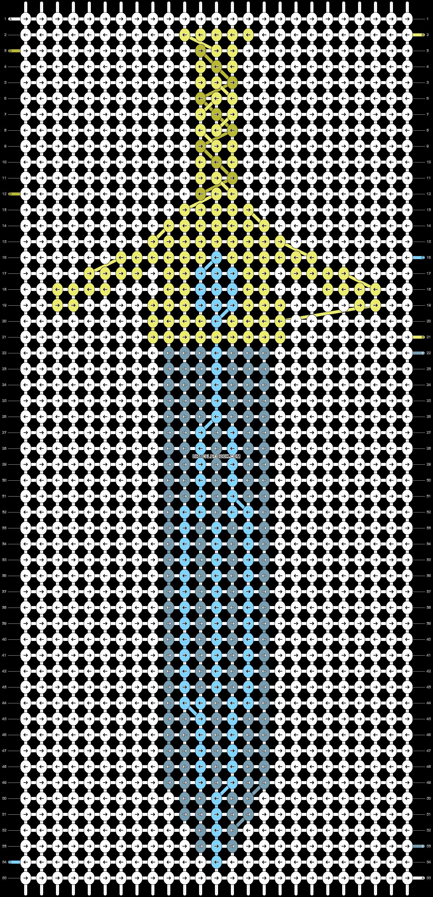 Alpha pattern #36034 pattern
