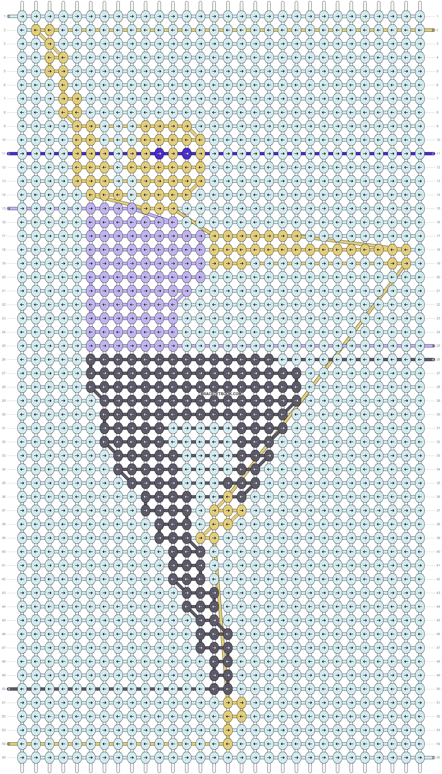 Alpha pattern #36072 pattern
