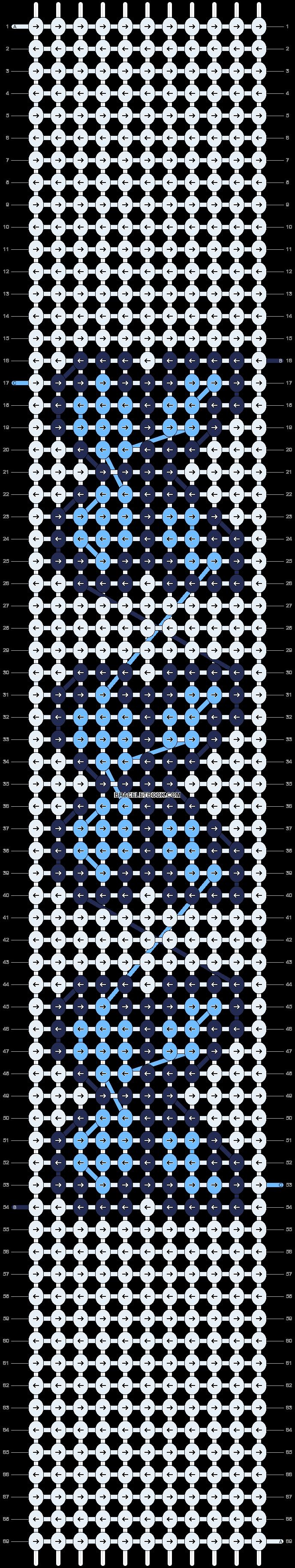 Alpha pattern #36093 pattern