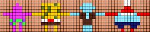 Alpha pattern #36101