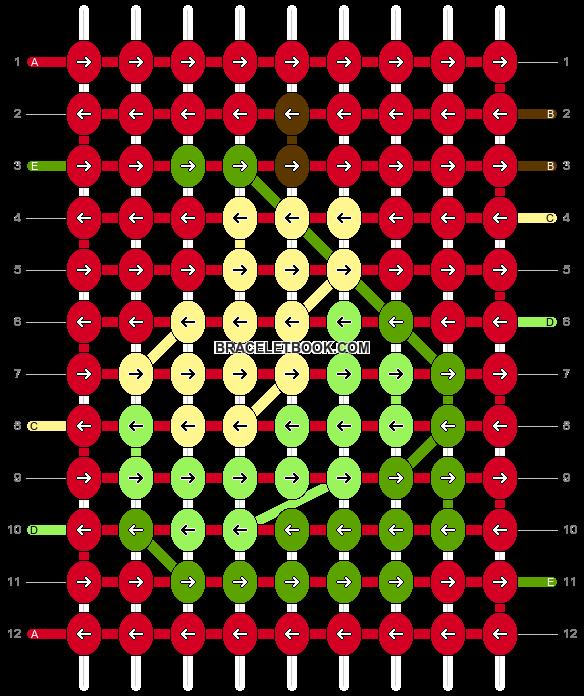 Alpha pattern #36122 pattern