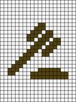 Alpha pattern #36138