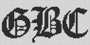 Alpha pattern #36140