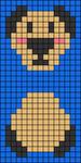 Alpha pattern #36154
