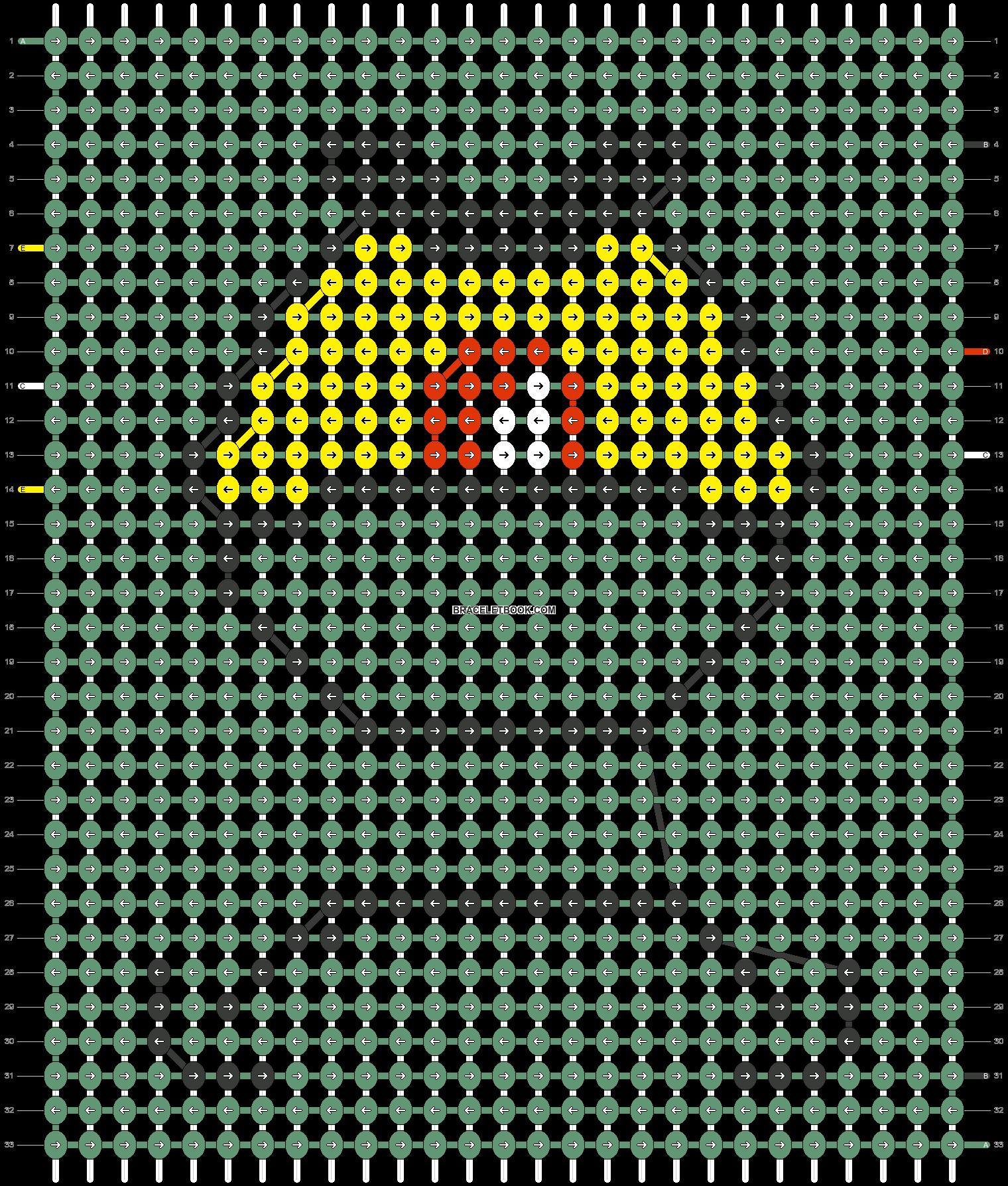 Alpha pattern #36167 pattern