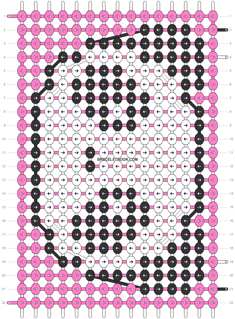 Alpha pattern #36196 pattern