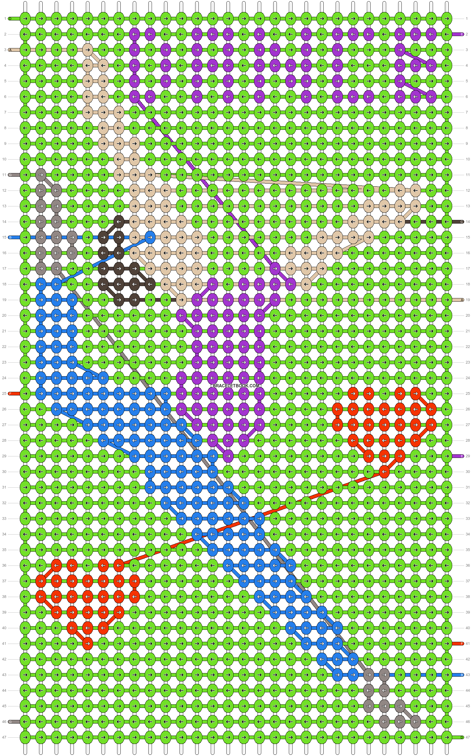 Alpha pattern #36223 pattern