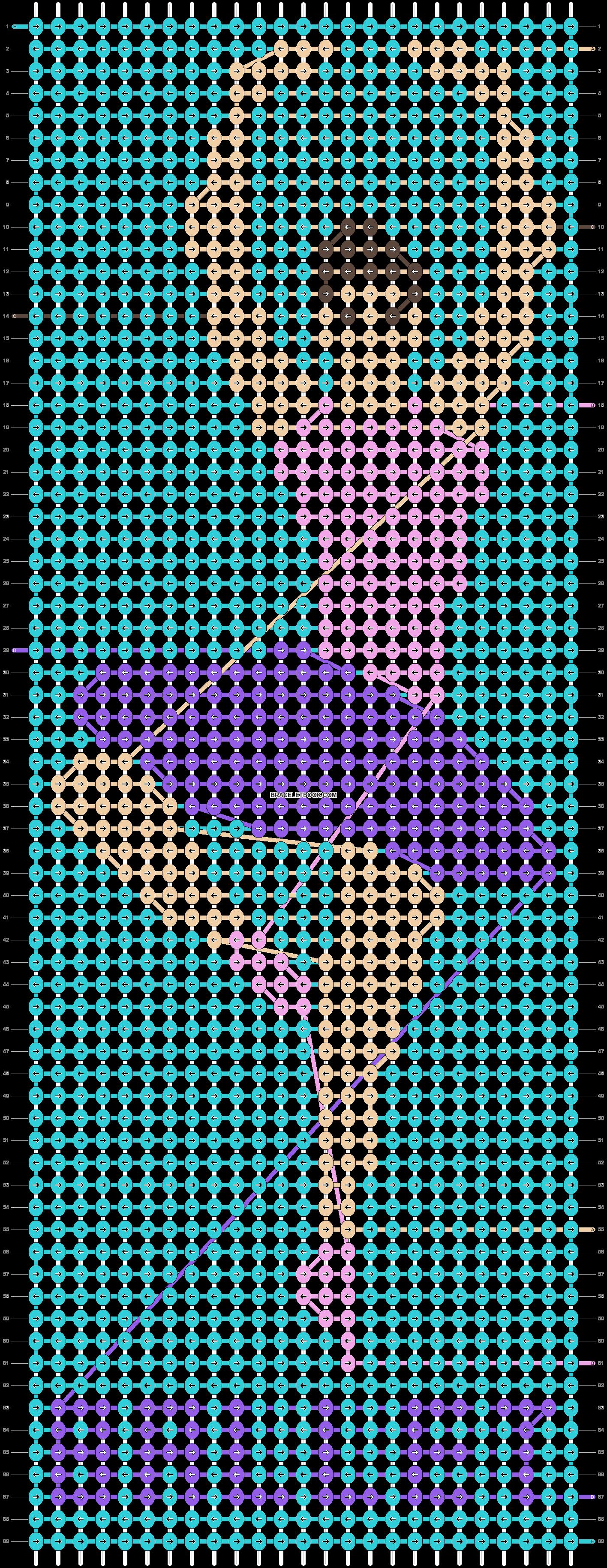 Alpha pattern #36254 pattern