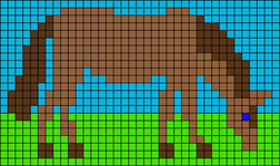 Alpha pattern #36255