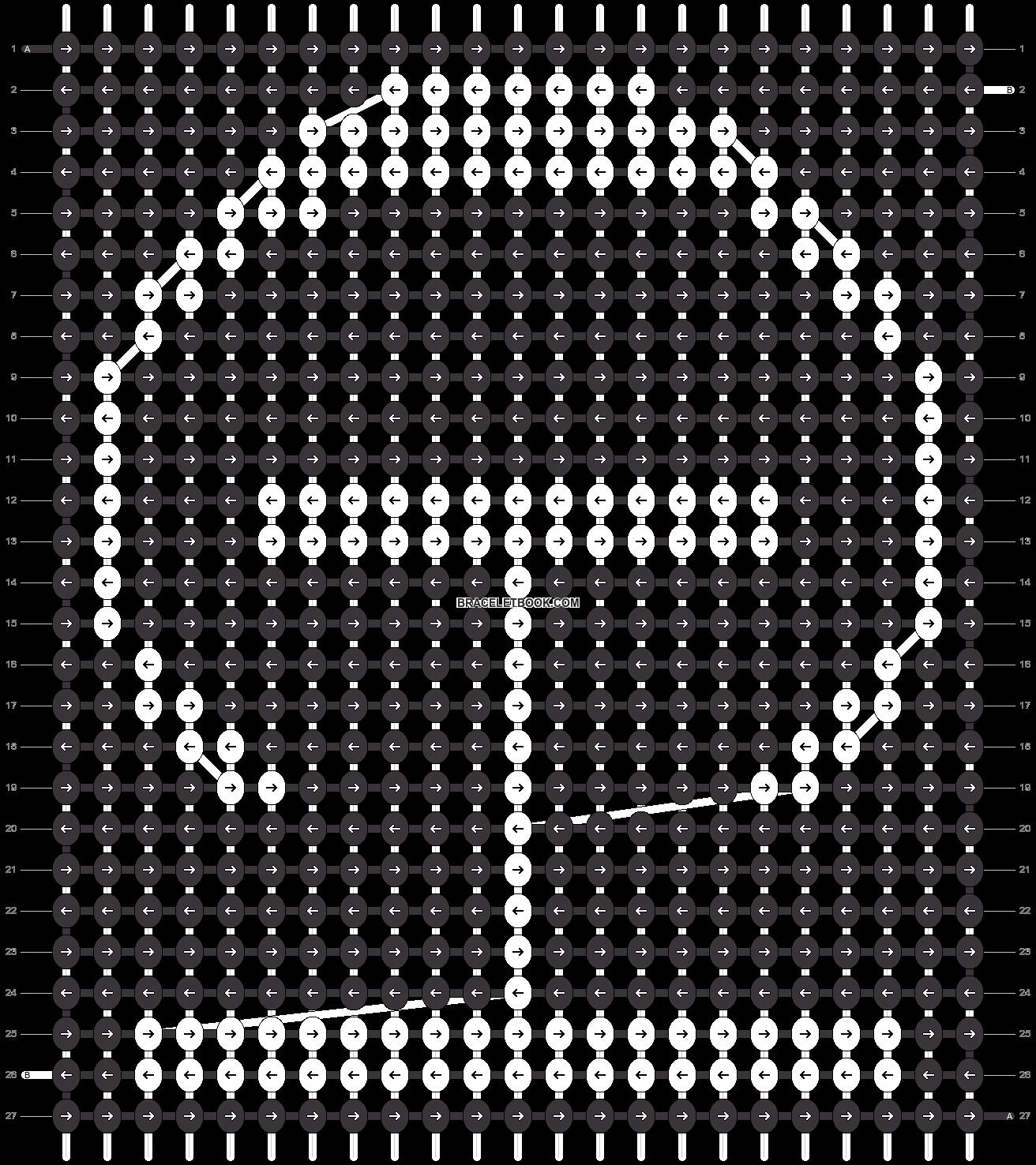 Alpha pattern #36257 pattern