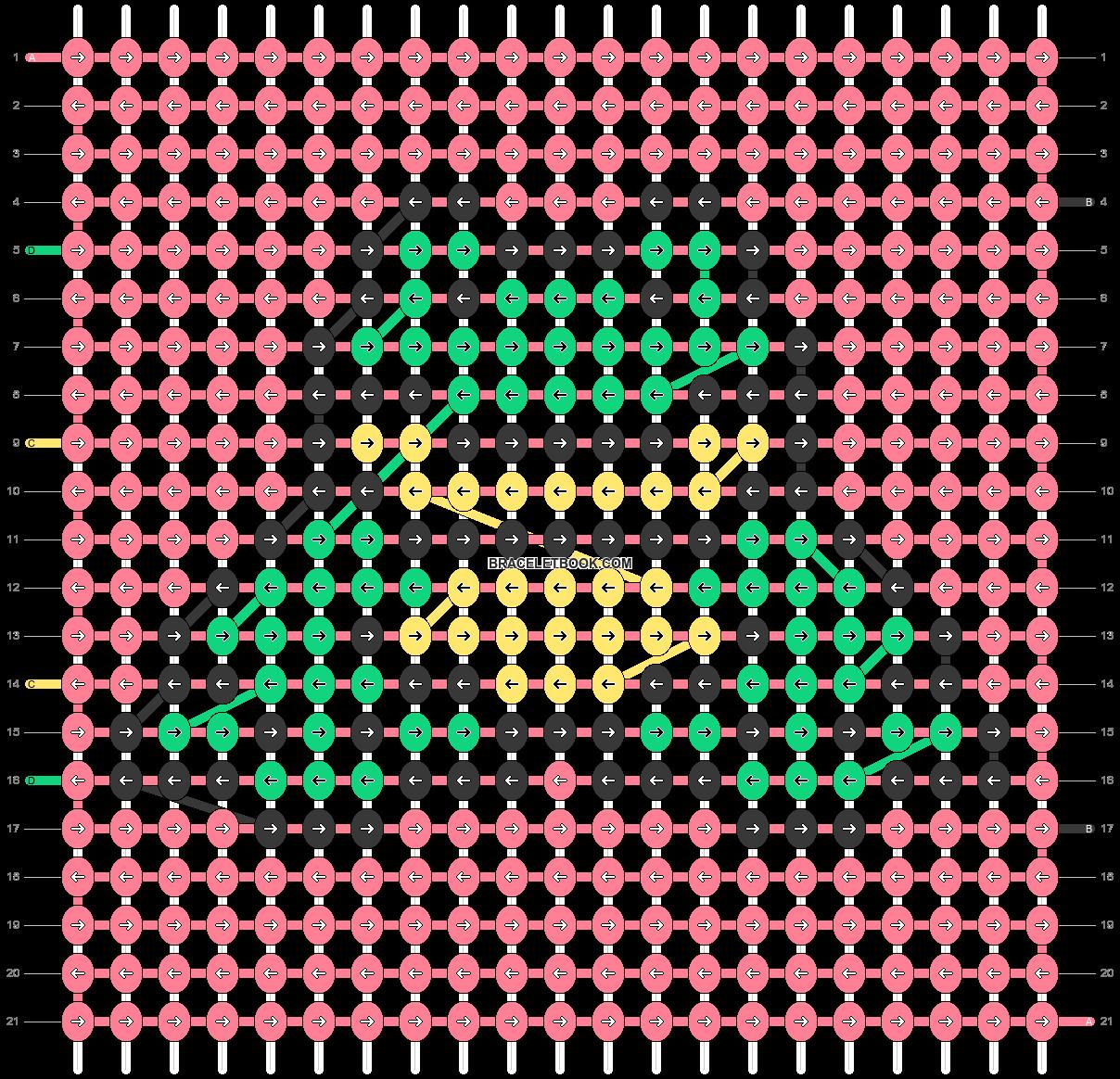 Alpha pattern #36269 pattern