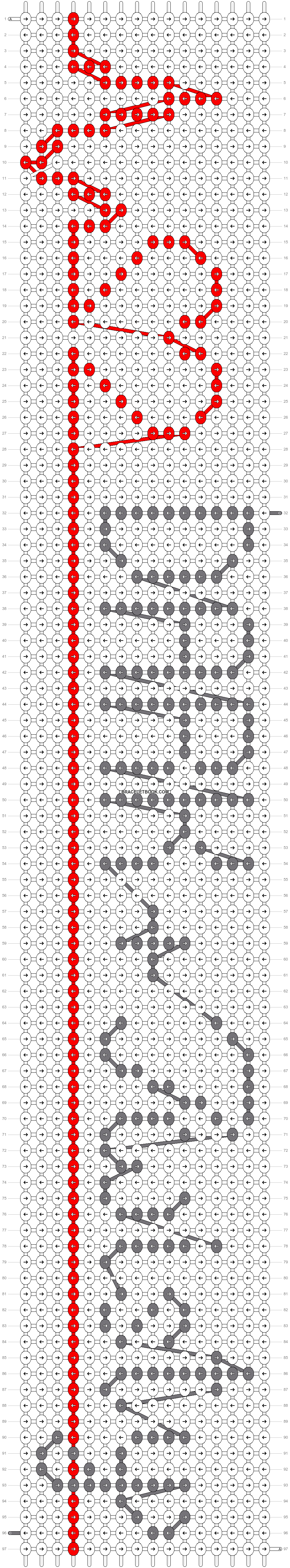 Alpha pattern #36287 pattern