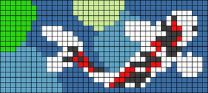 Alpha pattern #36348