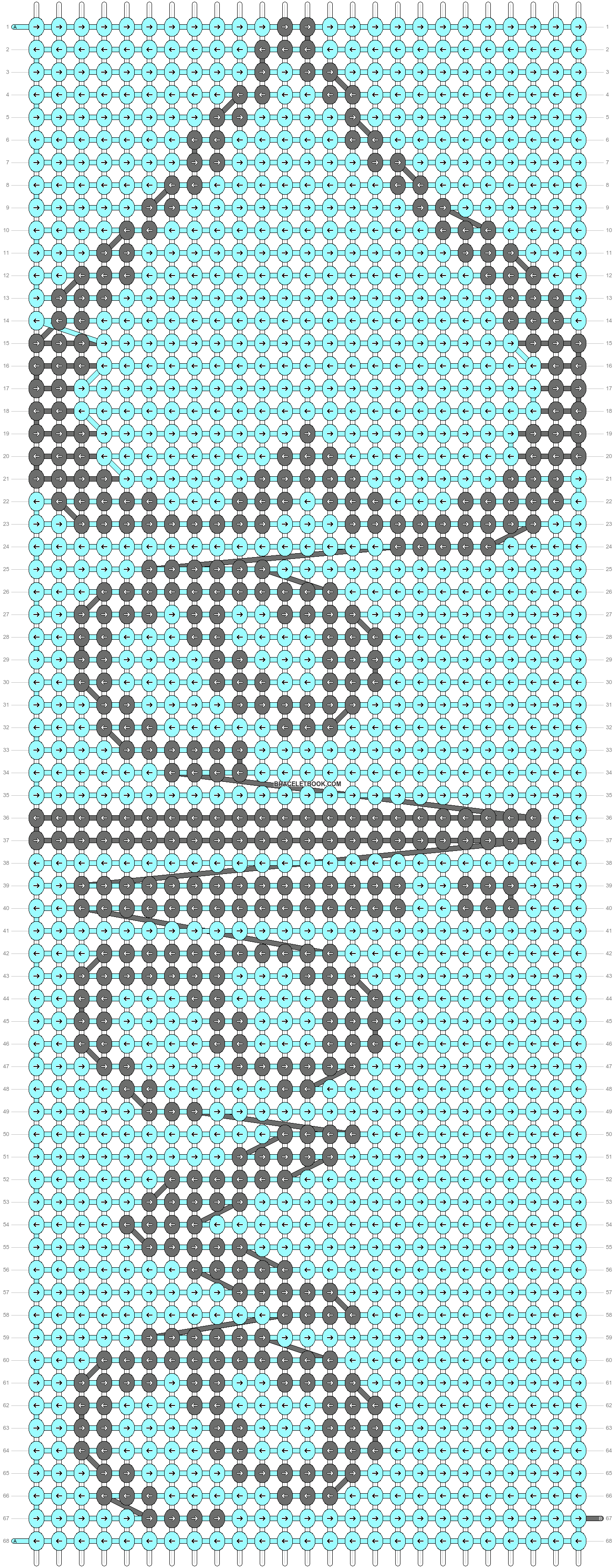Alpha pattern #36351 pattern