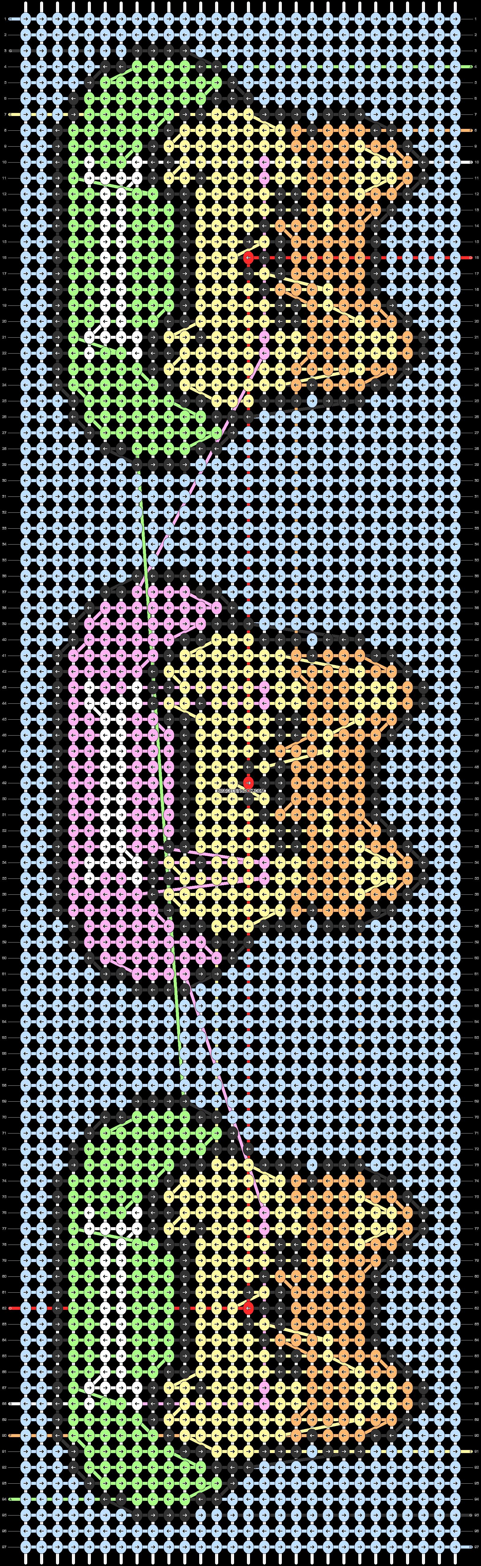 Alpha pattern #36364 pattern