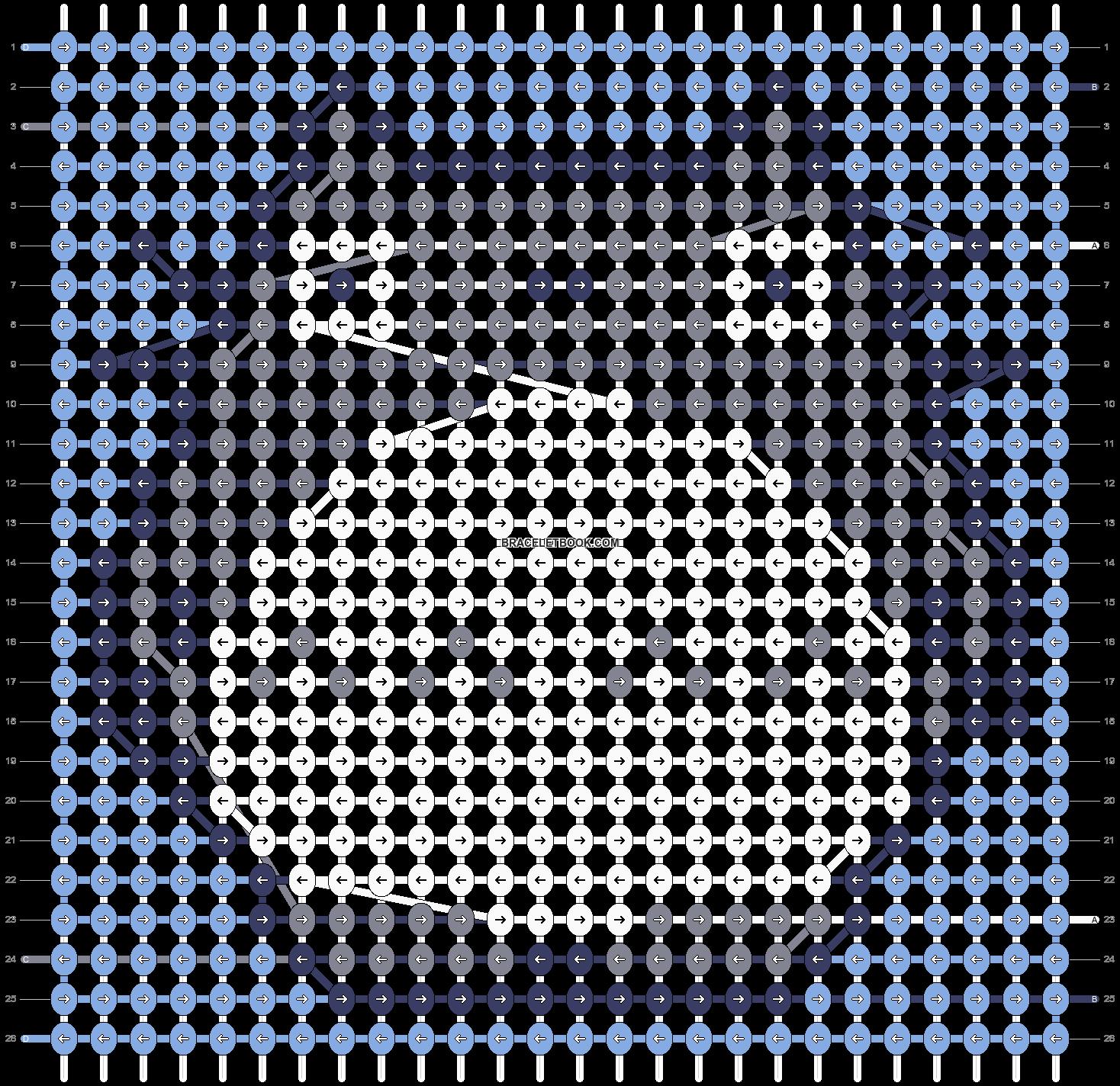 Alpha pattern #36387 pattern