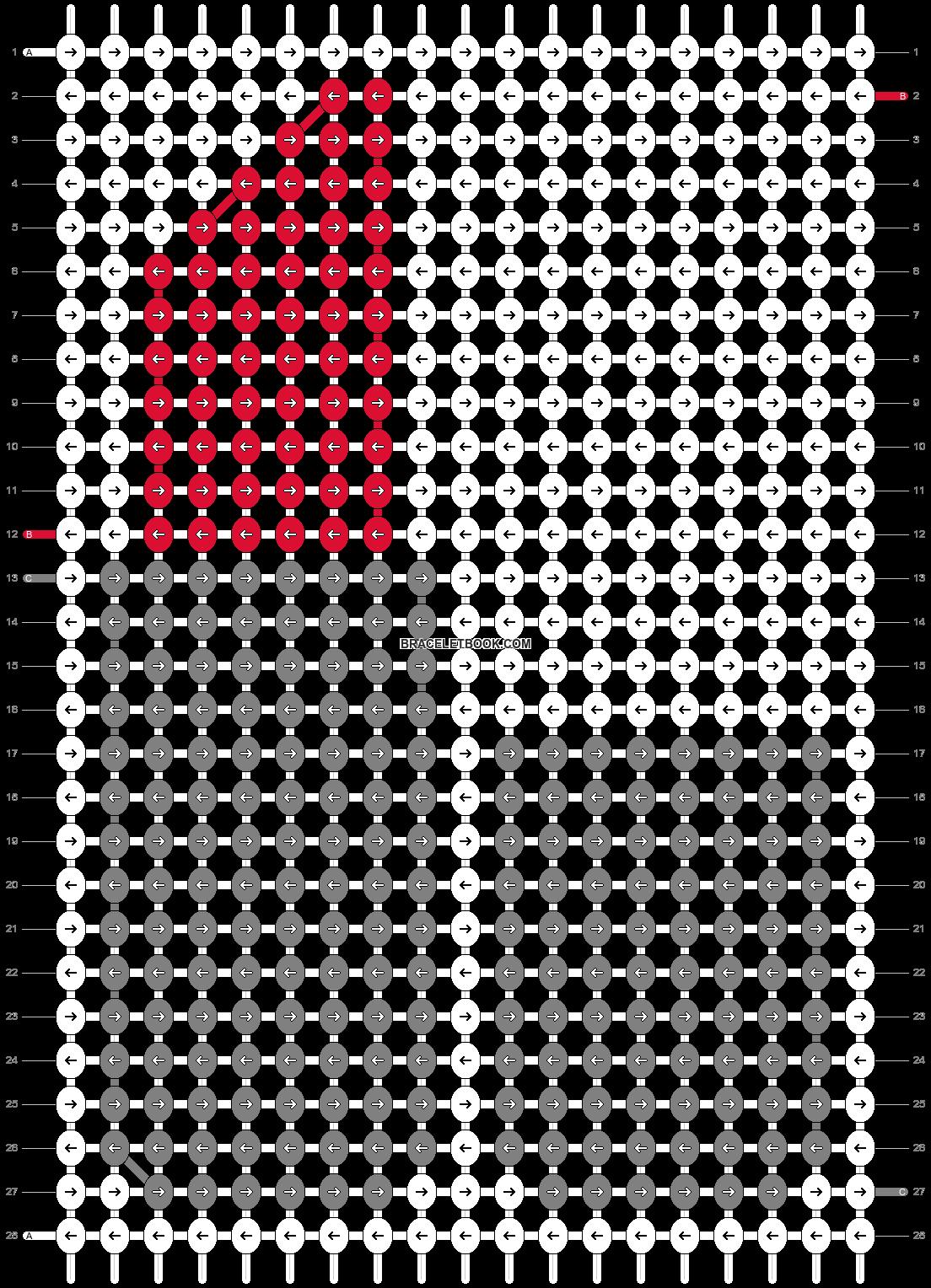 Alpha pattern #36429 pattern