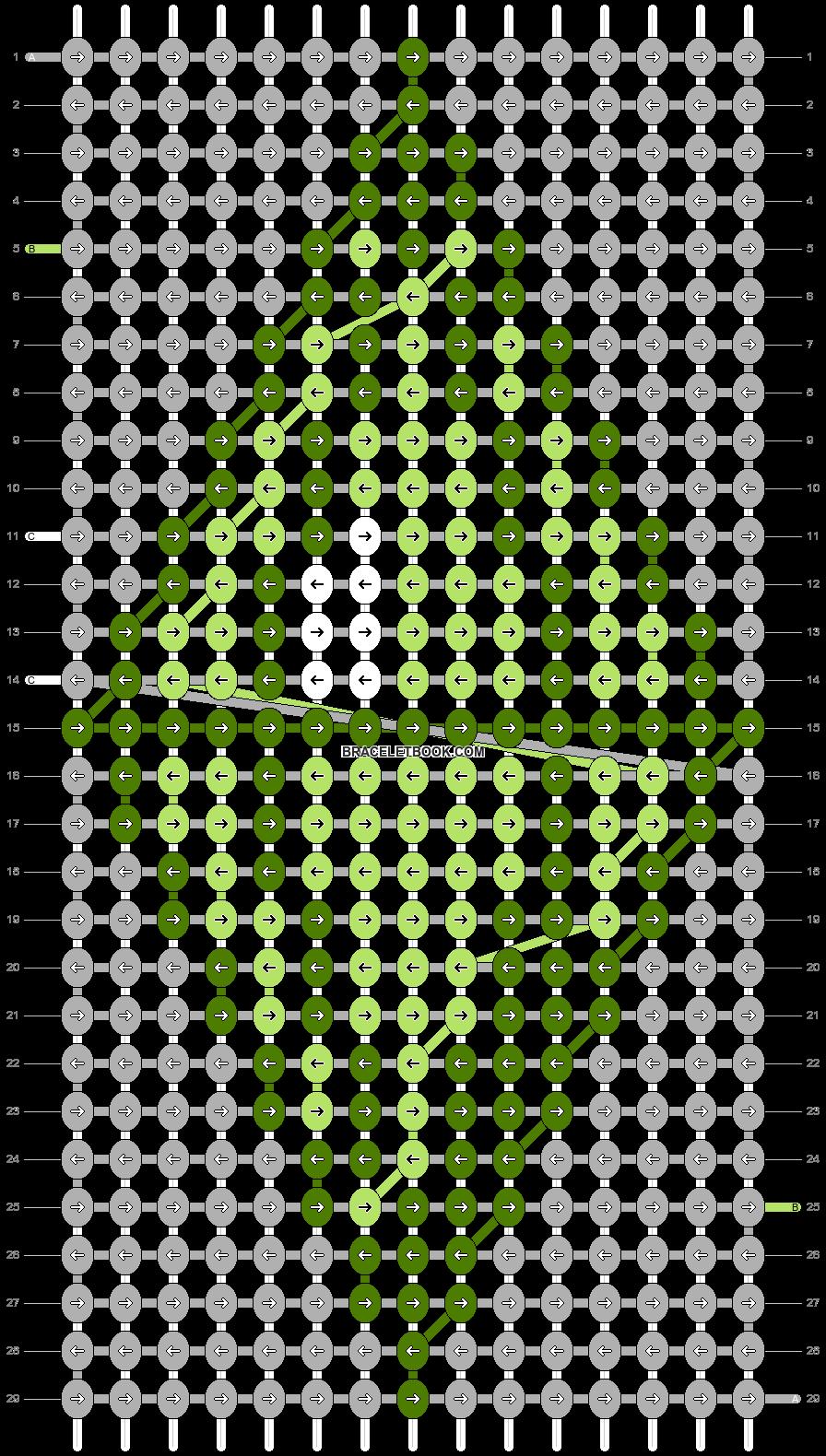 Alpha pattern #36505 pattern