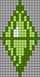 Alpha pattern #36505
