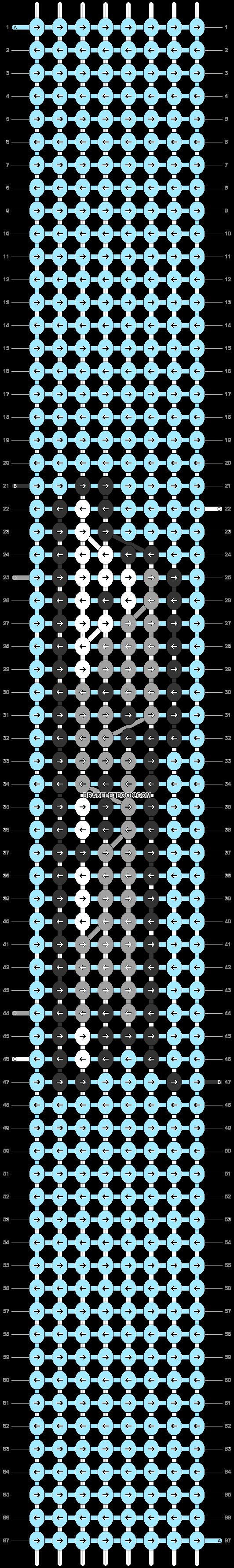 Alpha pattern #36514 pattern
