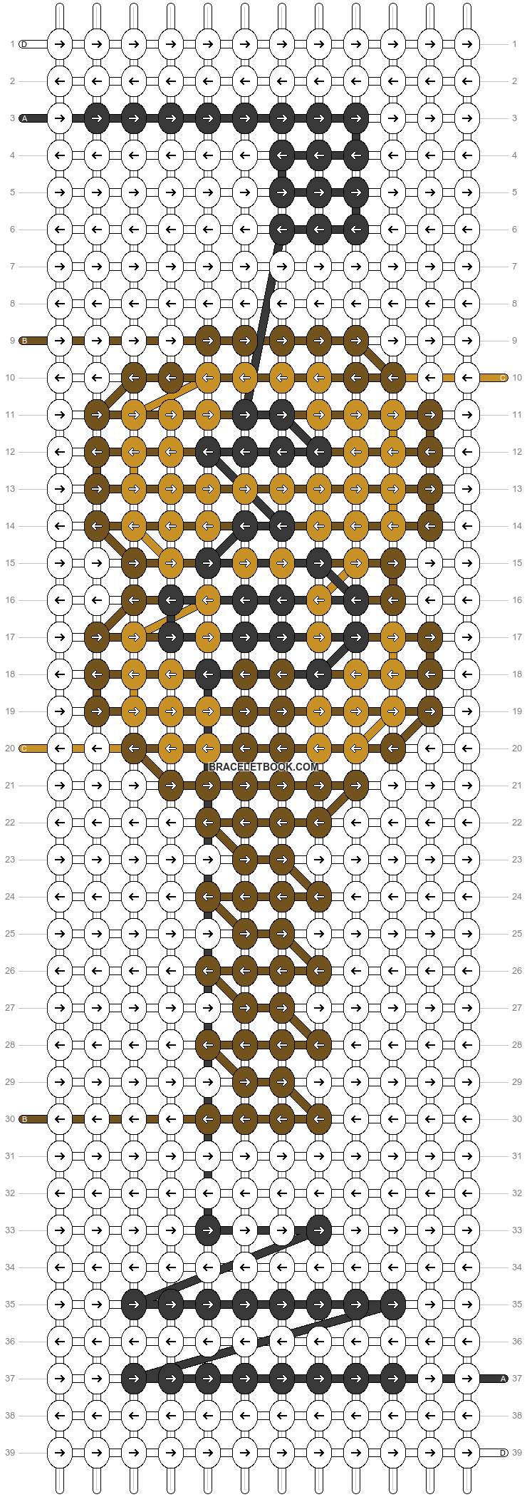 Alpha pattern #36525 pattern