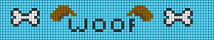 Alpha pattern #36526